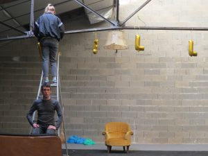 Préparation décoration spectacle Collectif REQUIEM